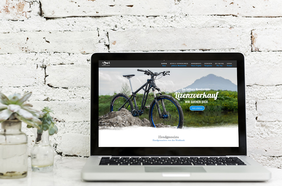 Webseite für die Tonkel Om handmades OG