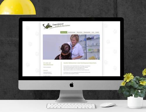 Homepage-Relaunch für die Tierarztpraxis Maria Boshamer