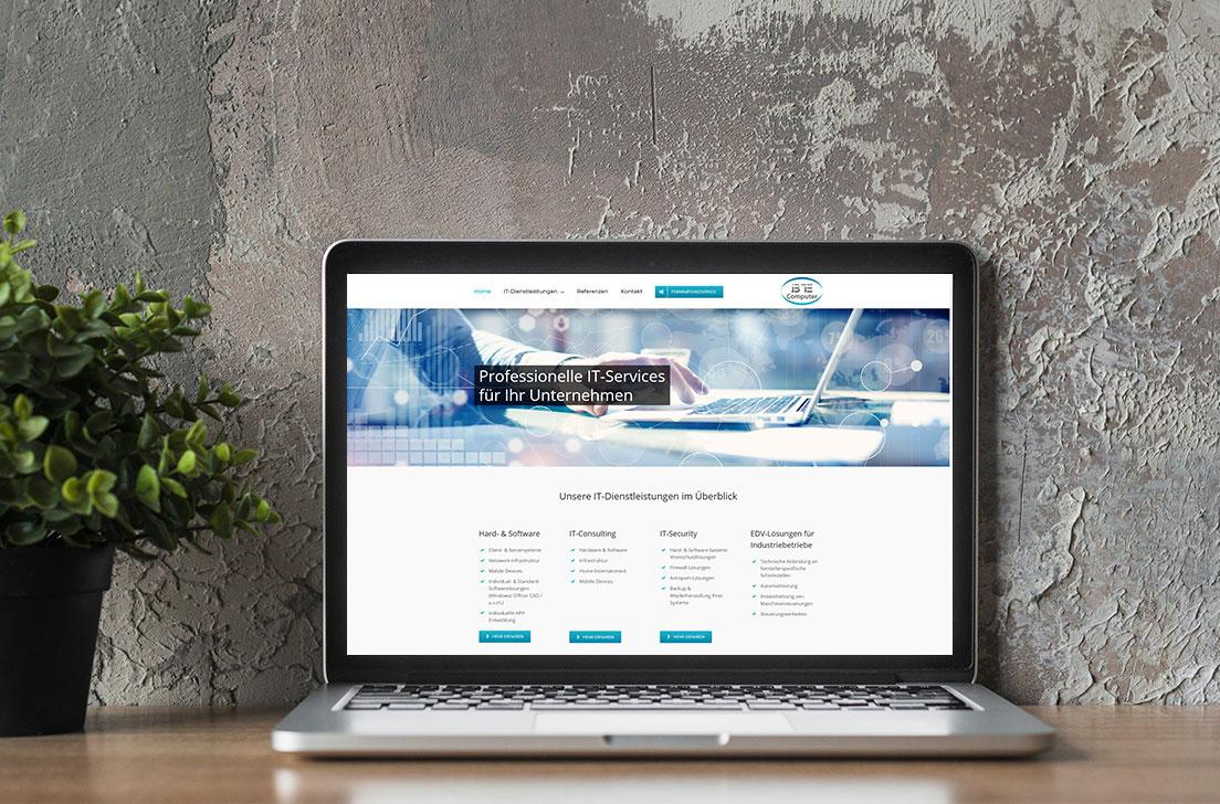 Website für BE-Computer Bernhard Eppenschwandtner