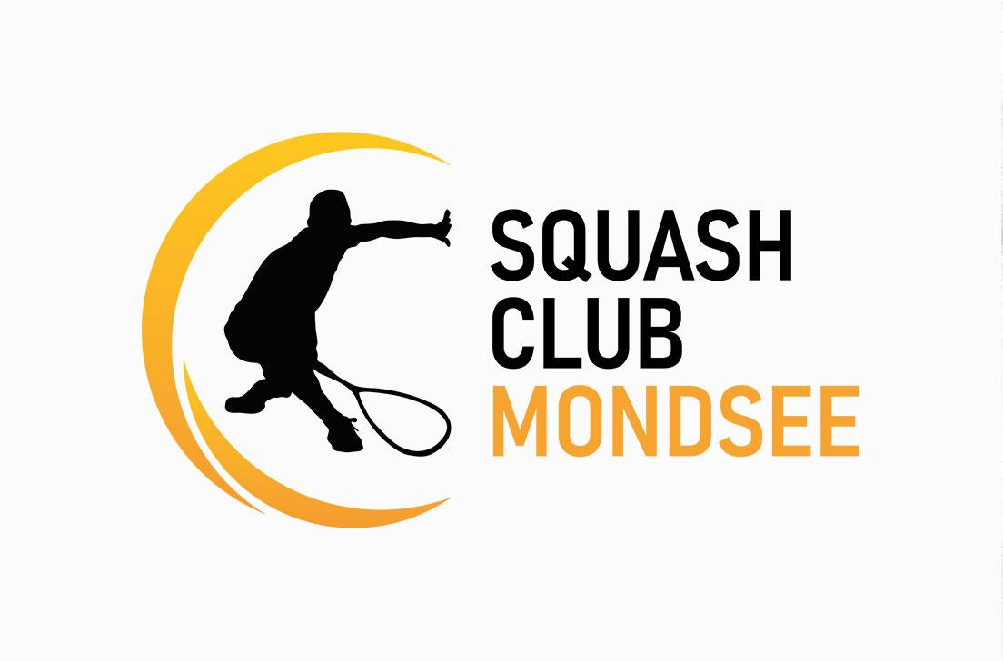 Referenz Logodesign für den Squash Club Mondsee