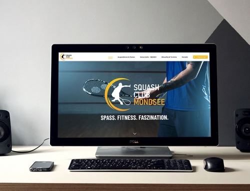 Homepage-Relaunch für den Squash Club Mondsee