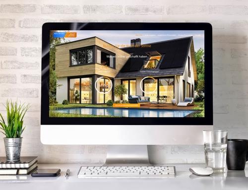 Webdesign für die Solenso & Co GmbH